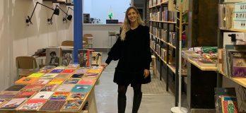 Paula Vázquez, socia fundadora de Lata Peinada / Foto cedida por la librería