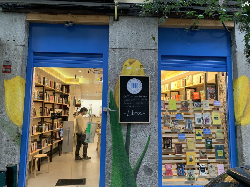 Lata Peinada en Madrid / Foto cedida por la librería
